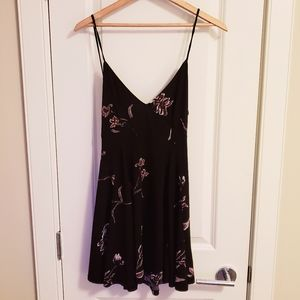 Silence + Noise Floral Print Dress